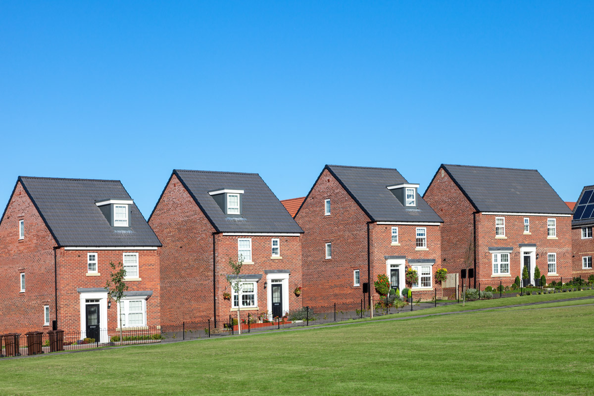 Why live on a new housing development?